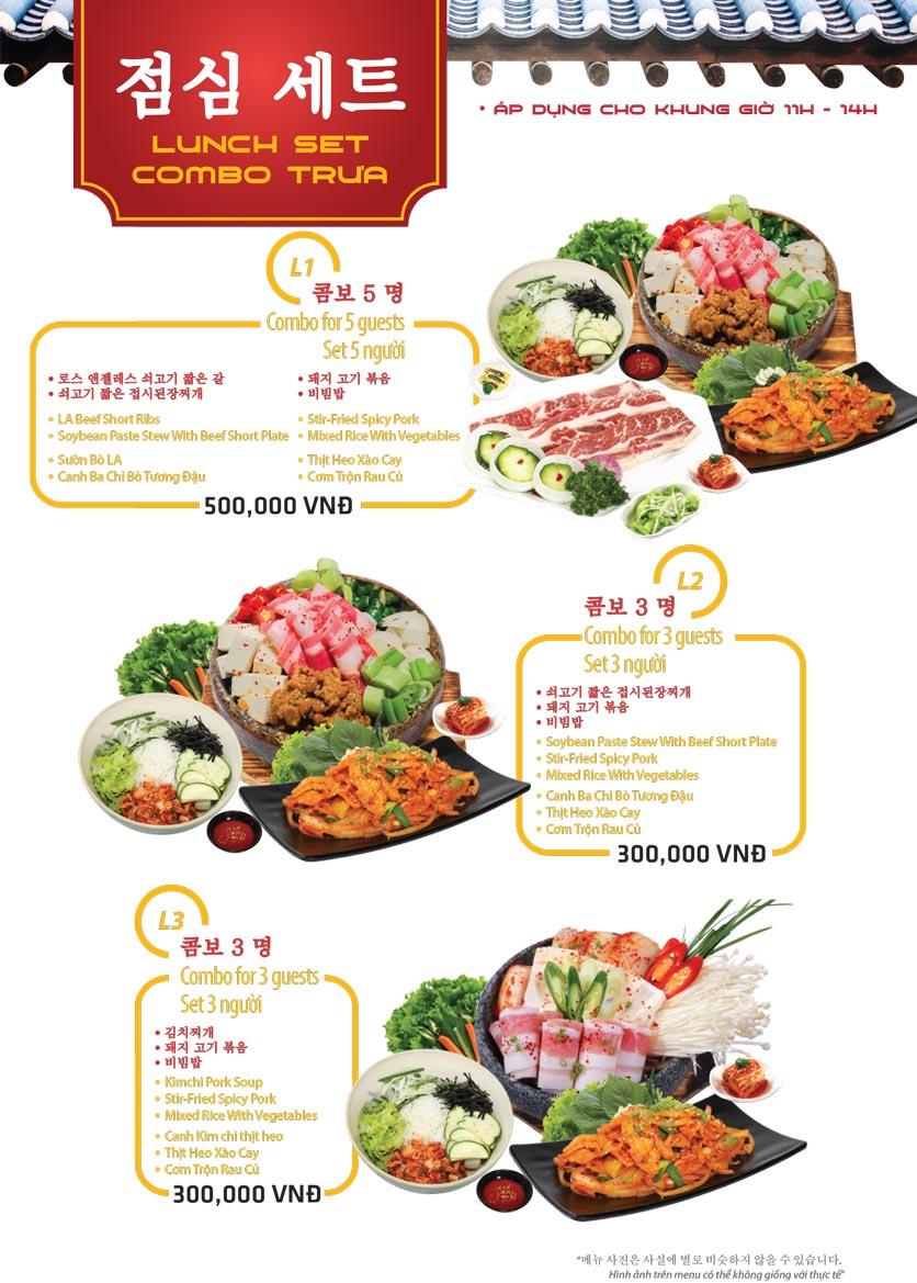 Menu Ulsan BBQ - Thái Văn Lung 18