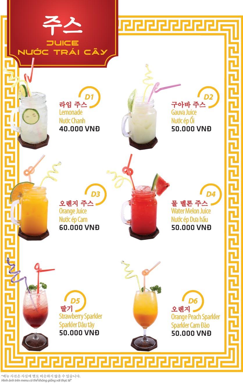 Menu Ulsan BBQ - Thái Văn Lung 19