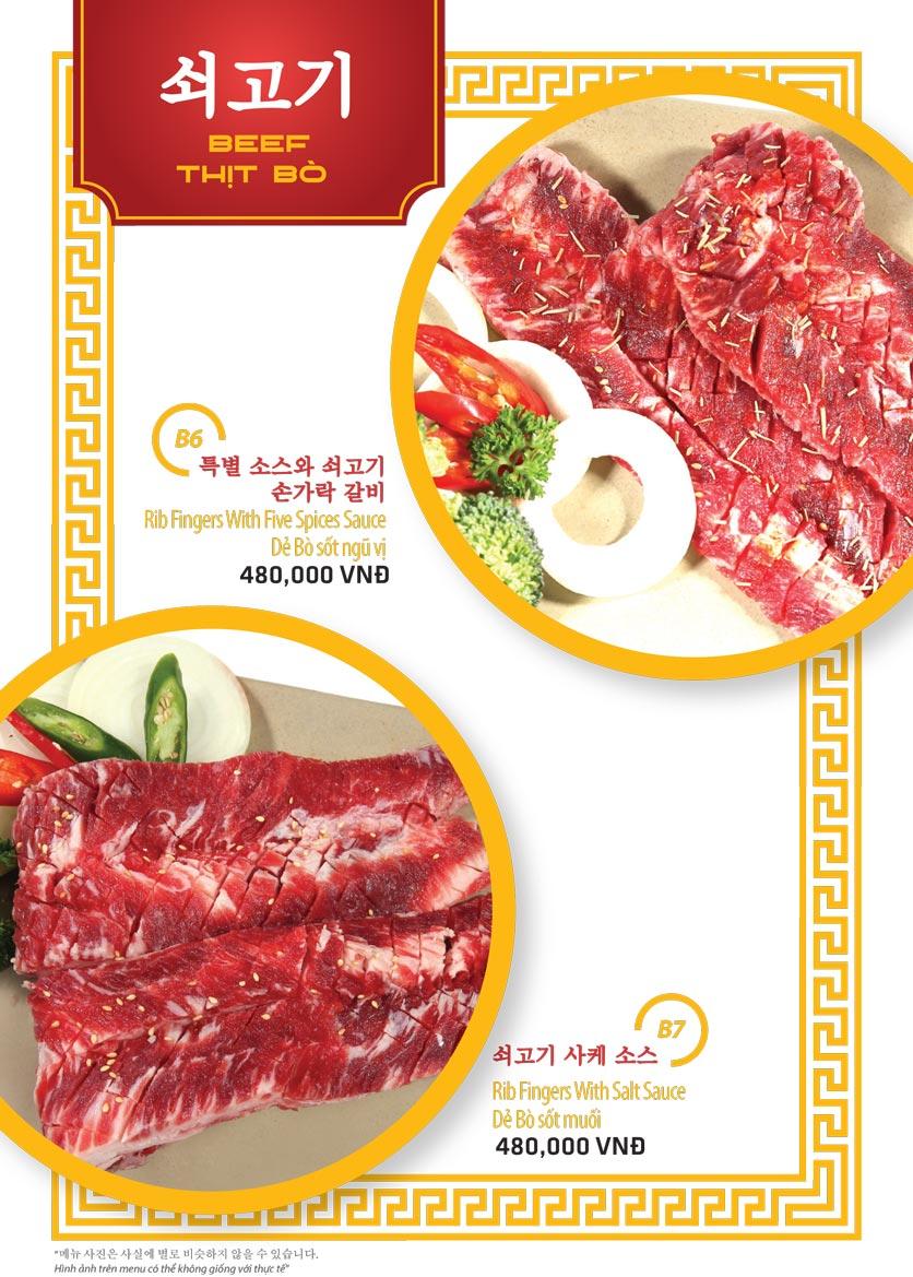 Menu Ulsan BBQ - Thái Văn Lung 4