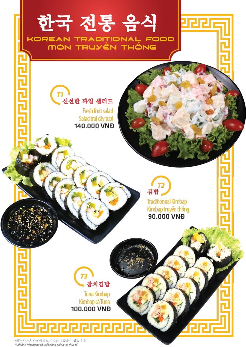 Menu Ulsan BBQ - Thái Văn Lung 9
