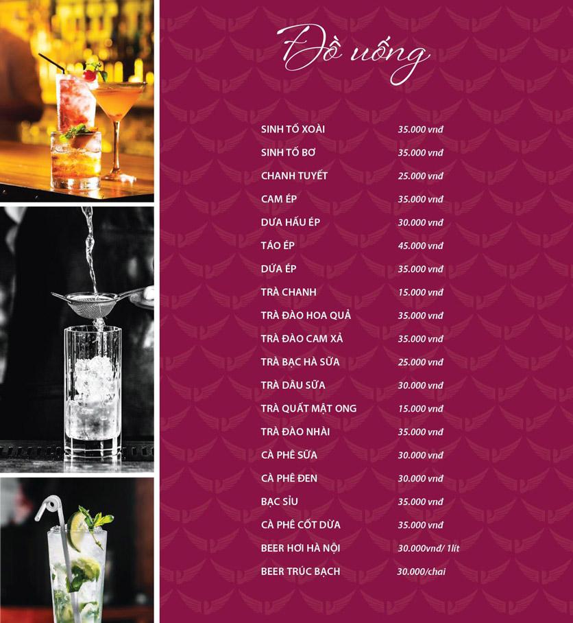 Menu Vân Hoàng Group – Restaurant & Wine Shop – Văn Quán  15
