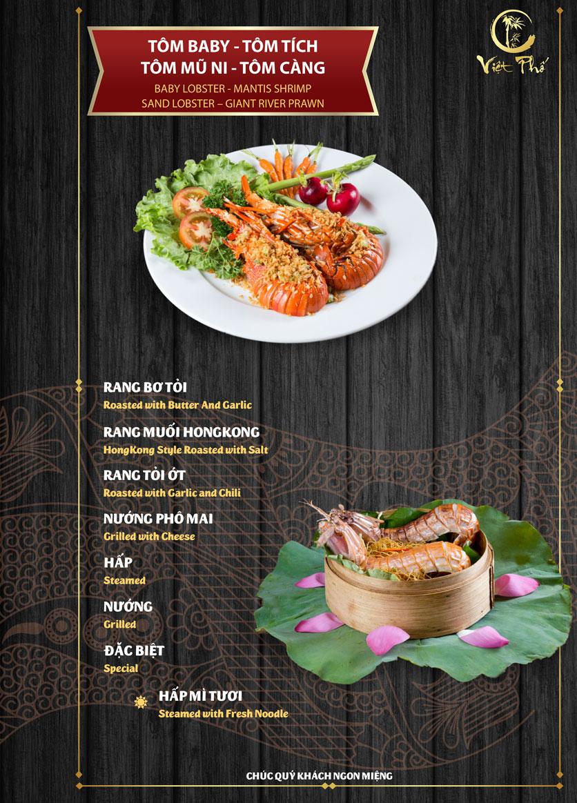 Menu Việt Phố - Nguyễn Trãi   10