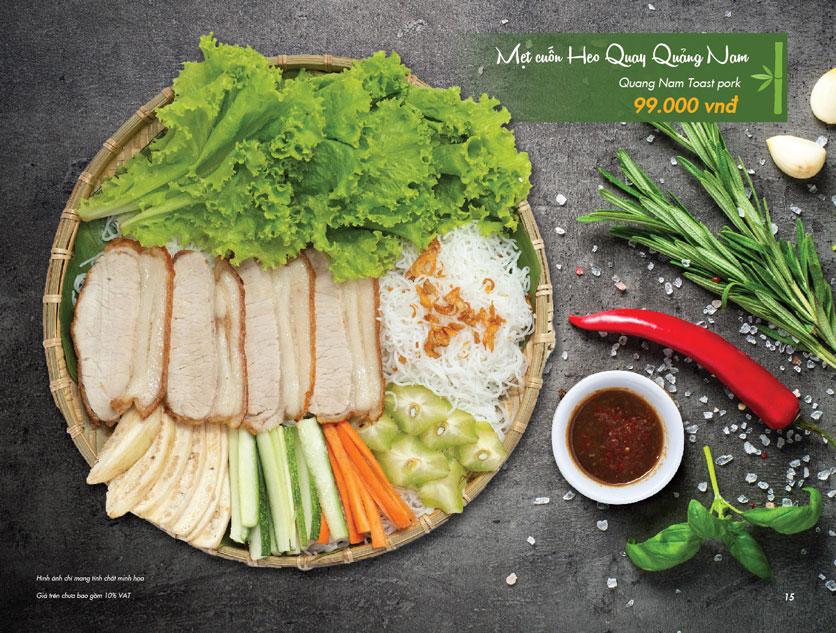 Menu  VietStreet - Vincom Trần Duy Hưng 14