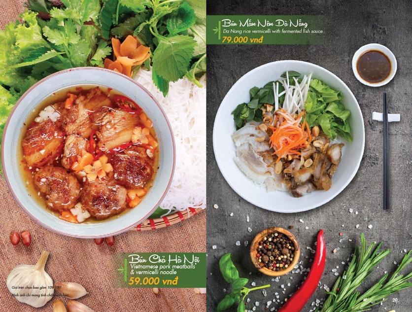Menu VietStreet – Vincom Nguyễn Chí Thanh 19