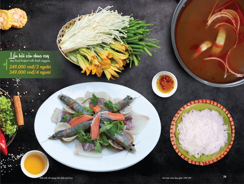 Menu  VietStreet - Vincom Trần Duy Hưng 25