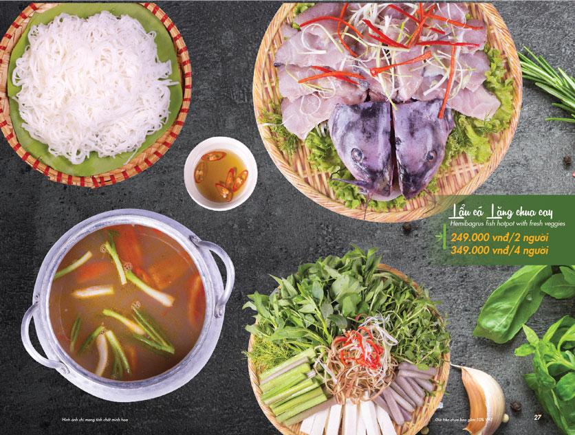 Menu VietStreet – Vincom Nguyễn Chí Thanh 26