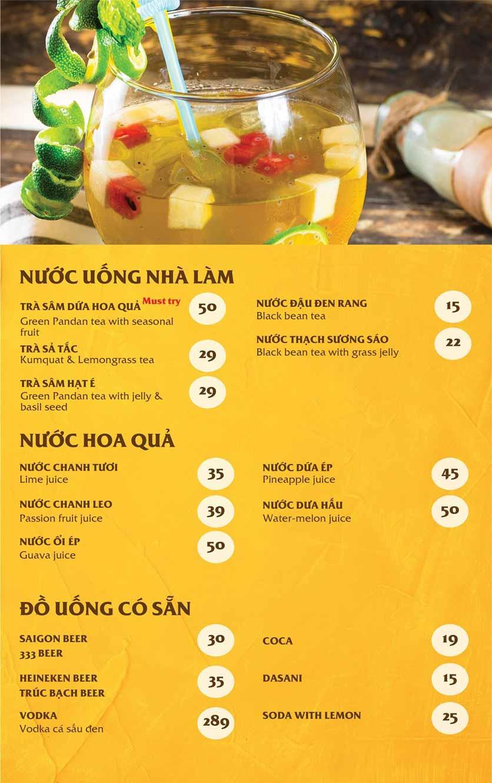 Menu Vị Quảng – Nguyễn Chí Thanh 7