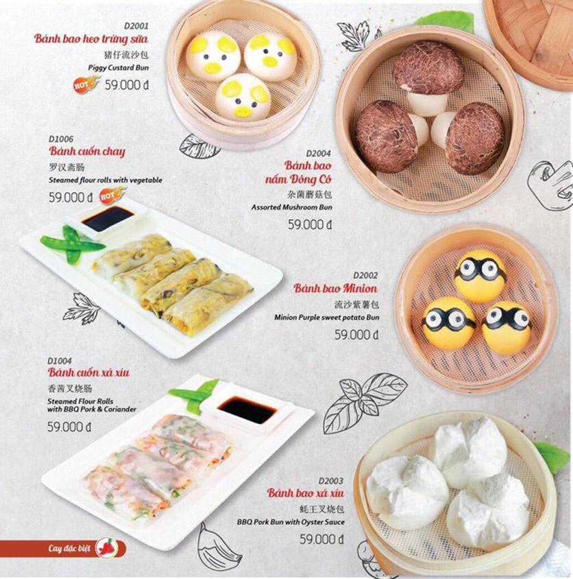 Menu Wenxing HongKong - Thái Hà 30