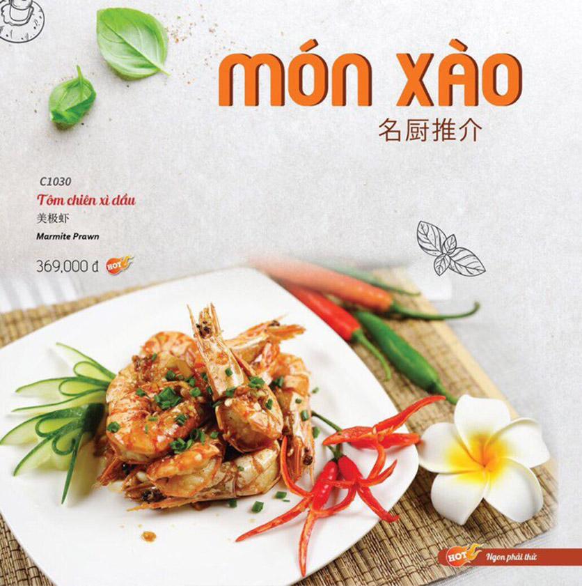 Menu Wenxing HongKong - Thái Hà 33