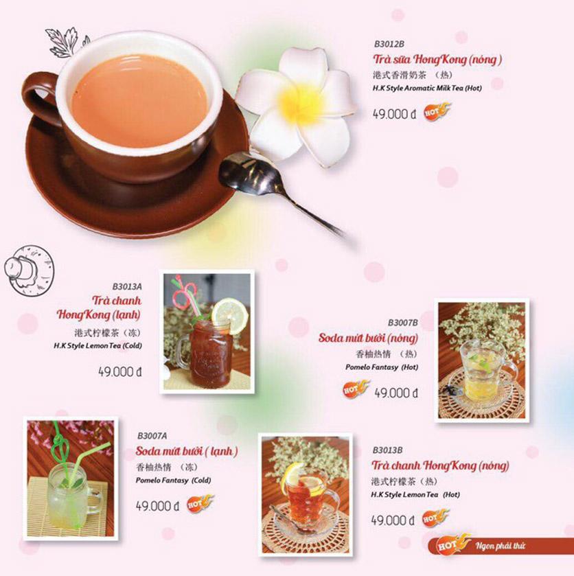 Menu Wenxing HongKong - Thái Hà 55