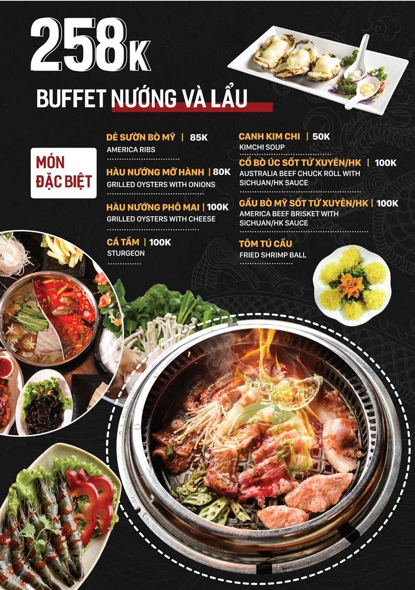 Menu Yuán BBQ & Hotpot - 302 Cầu Giấy 4