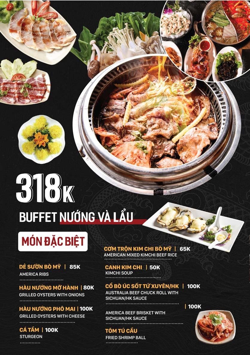 Menu Yuán BBQ & Hotpot - 302 Cầu Giấy 6