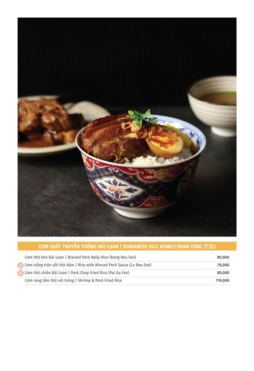 Menu Yu Tang Dining - Big C Thăng Long  2