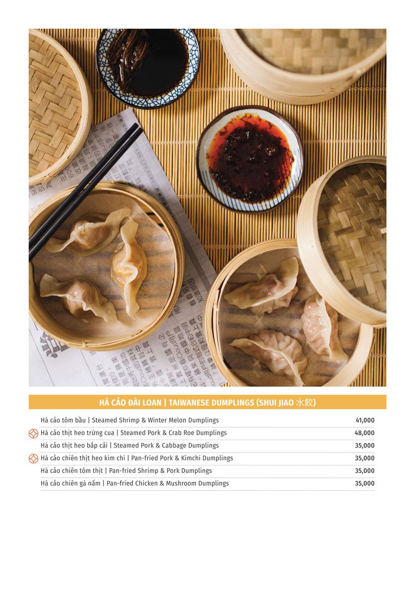 Menu Yu Tang Dining - Big C Thăng Long  4