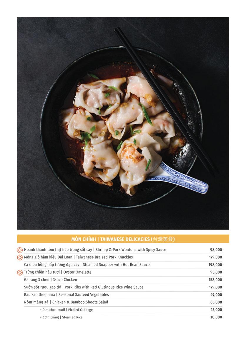 Menu Yu Tang Dining - Big C Thăng Long  5