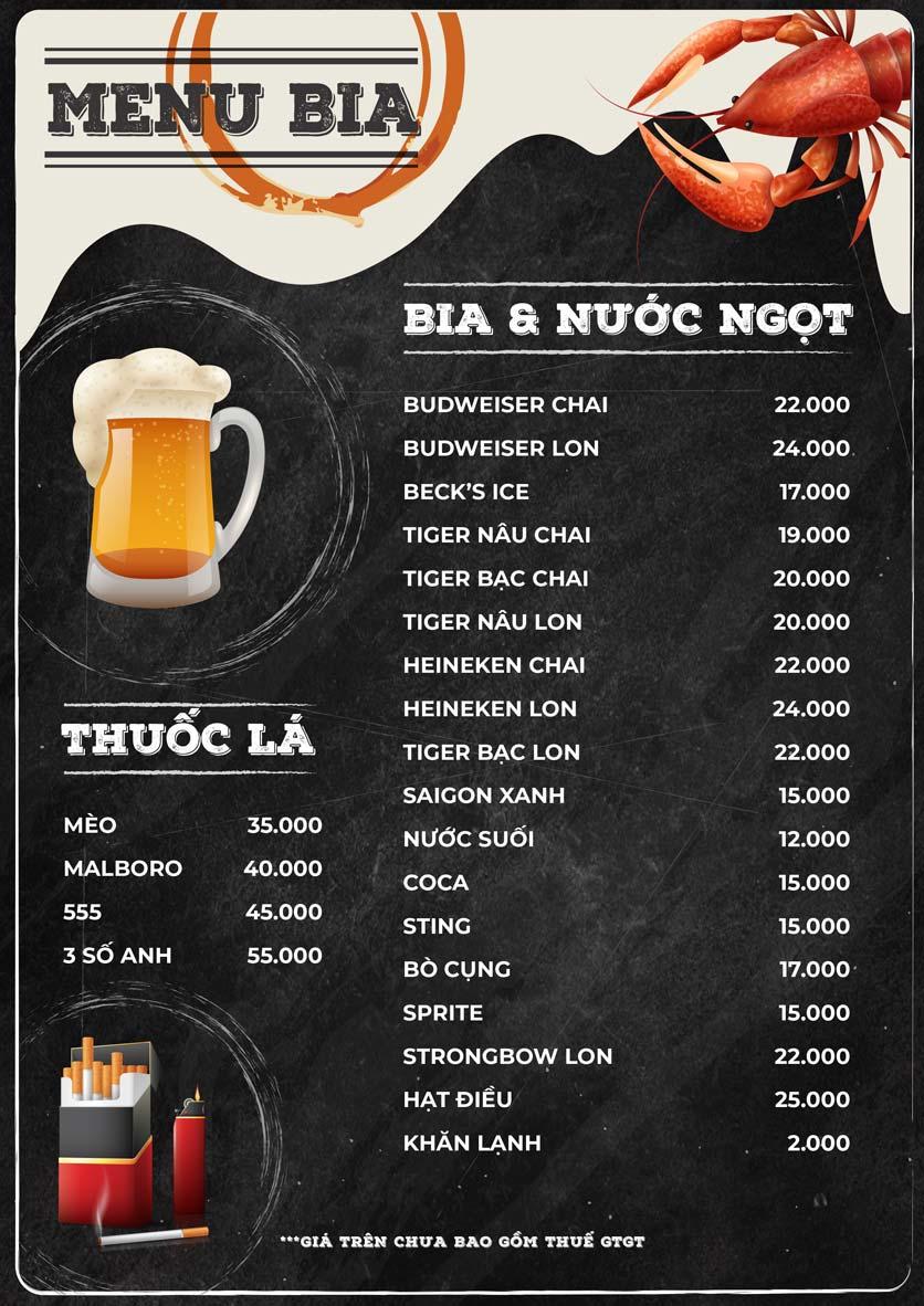 Menu ZooZoo - Phạm Văn Đồng 1