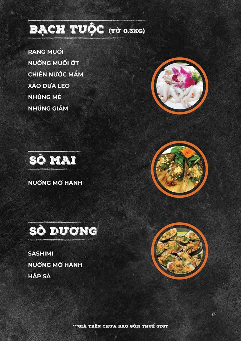 Menu ZooZoo - Phạm Văn Đồng 14