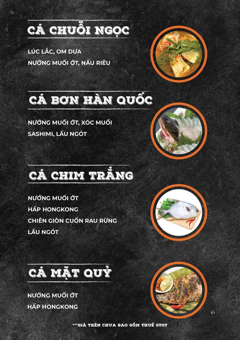 Menu ZooZoo - Phạm Văn Đồng 15