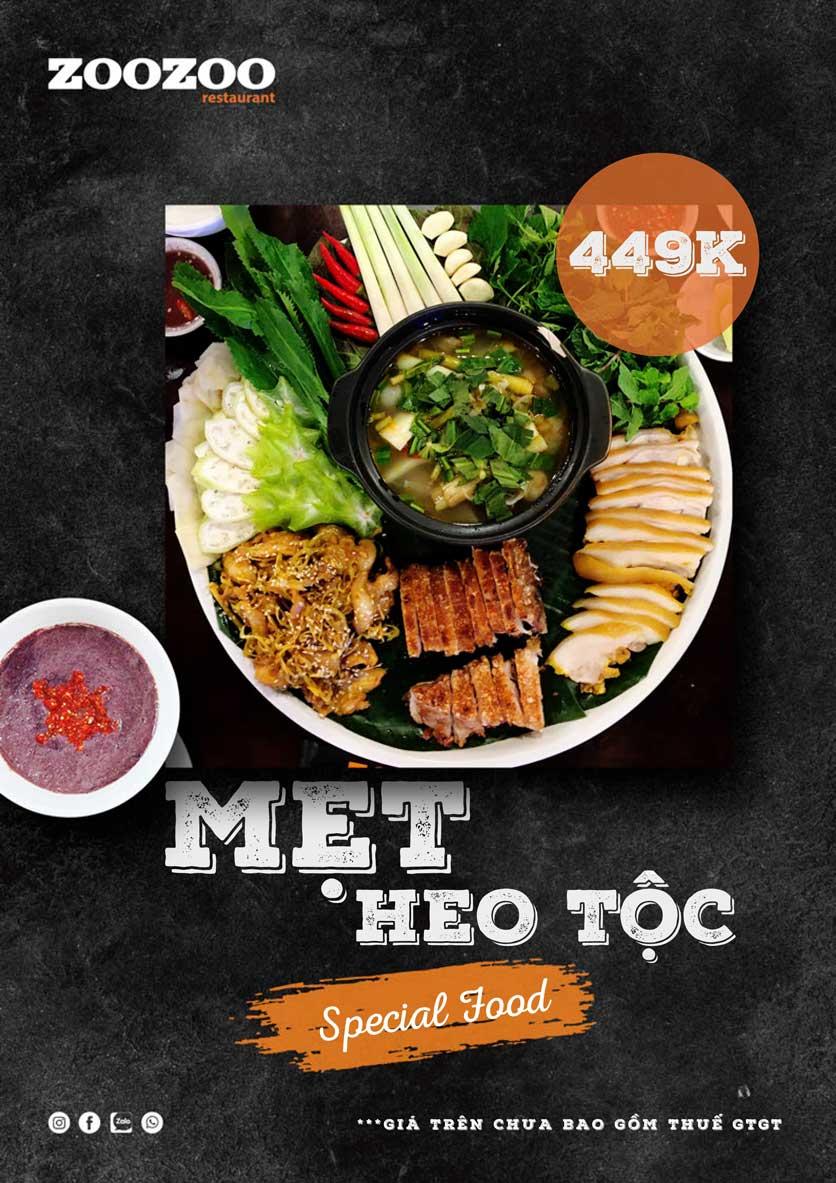 Menu ZooZoo - Phạm Văn Đồng 22
