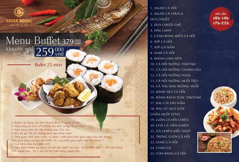 Menu G8 Osake House - 152 Ngọc Khánh   43