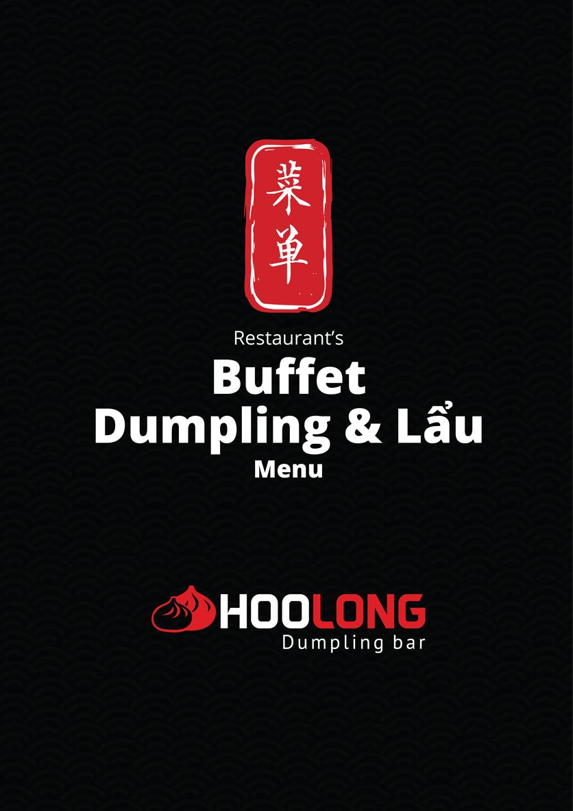Menu Hoolong - Dumpling Bar - Lê Văn Lương   1