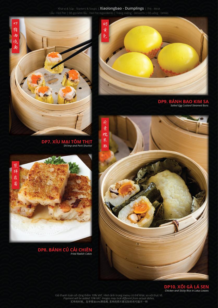 Menu Hoolong - Dumpling Bar - Lê Văn Lương   6