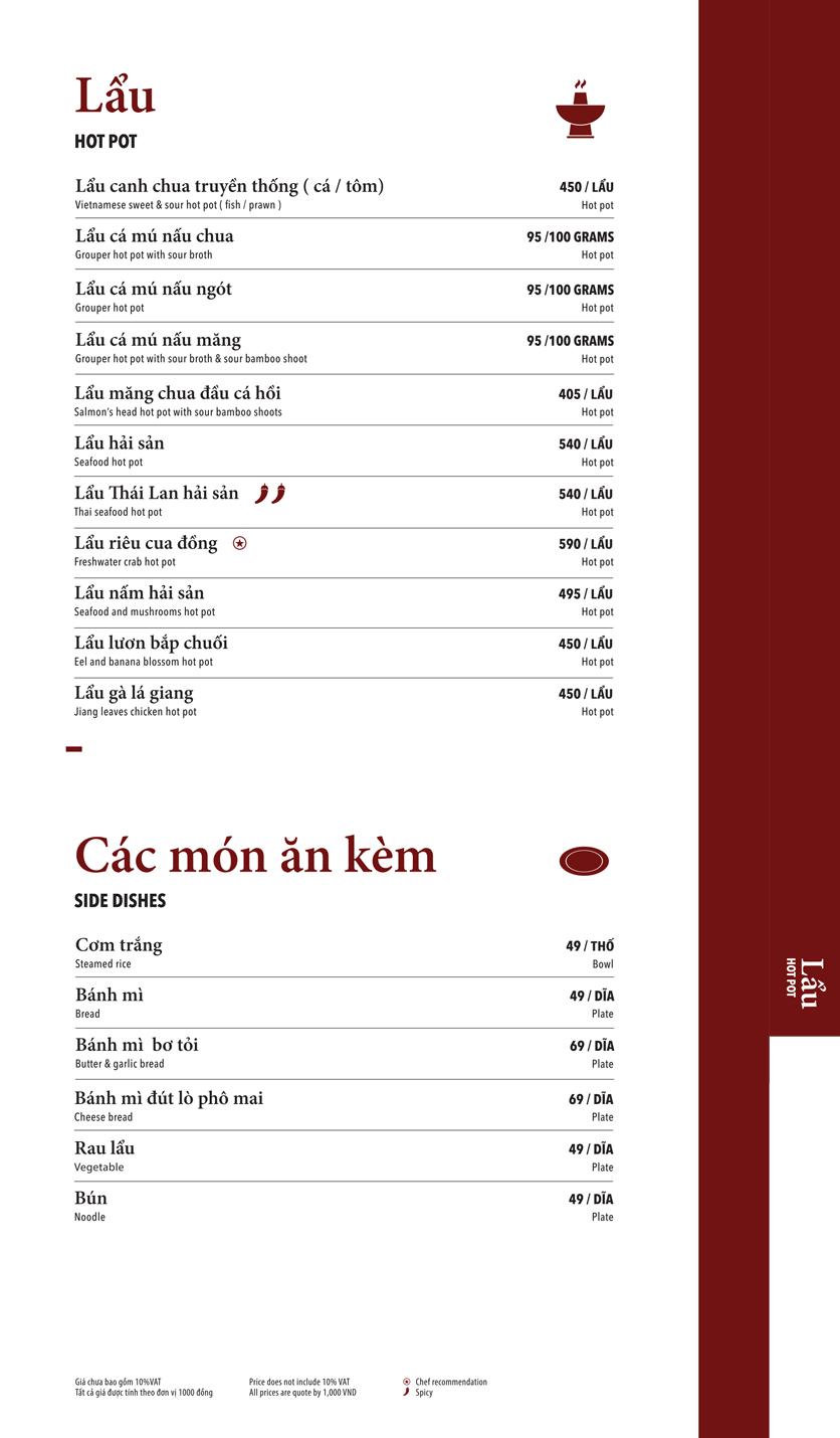 Menu Ngọc Sương Sài Gòn - Sương Nguyệt Ánh 14