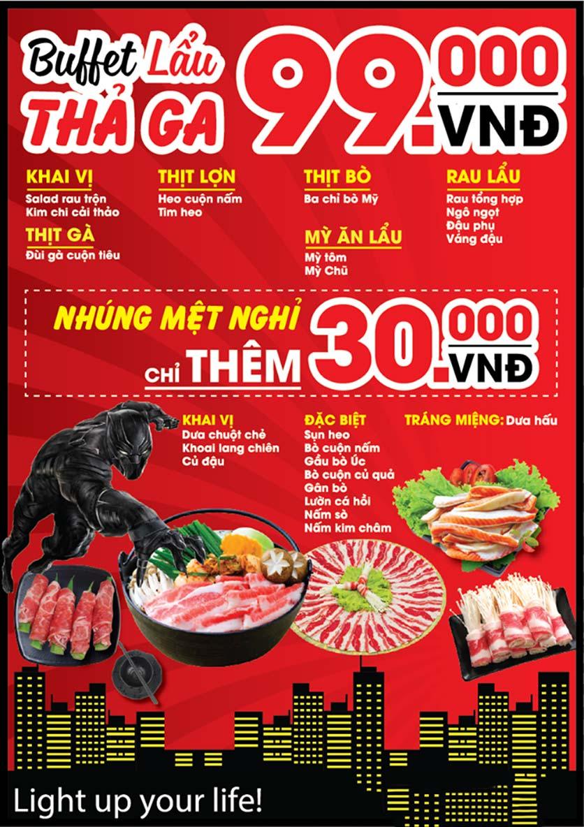 Menu 9Life Hotpot & BBQ – Trần Đại Nghĩa  1