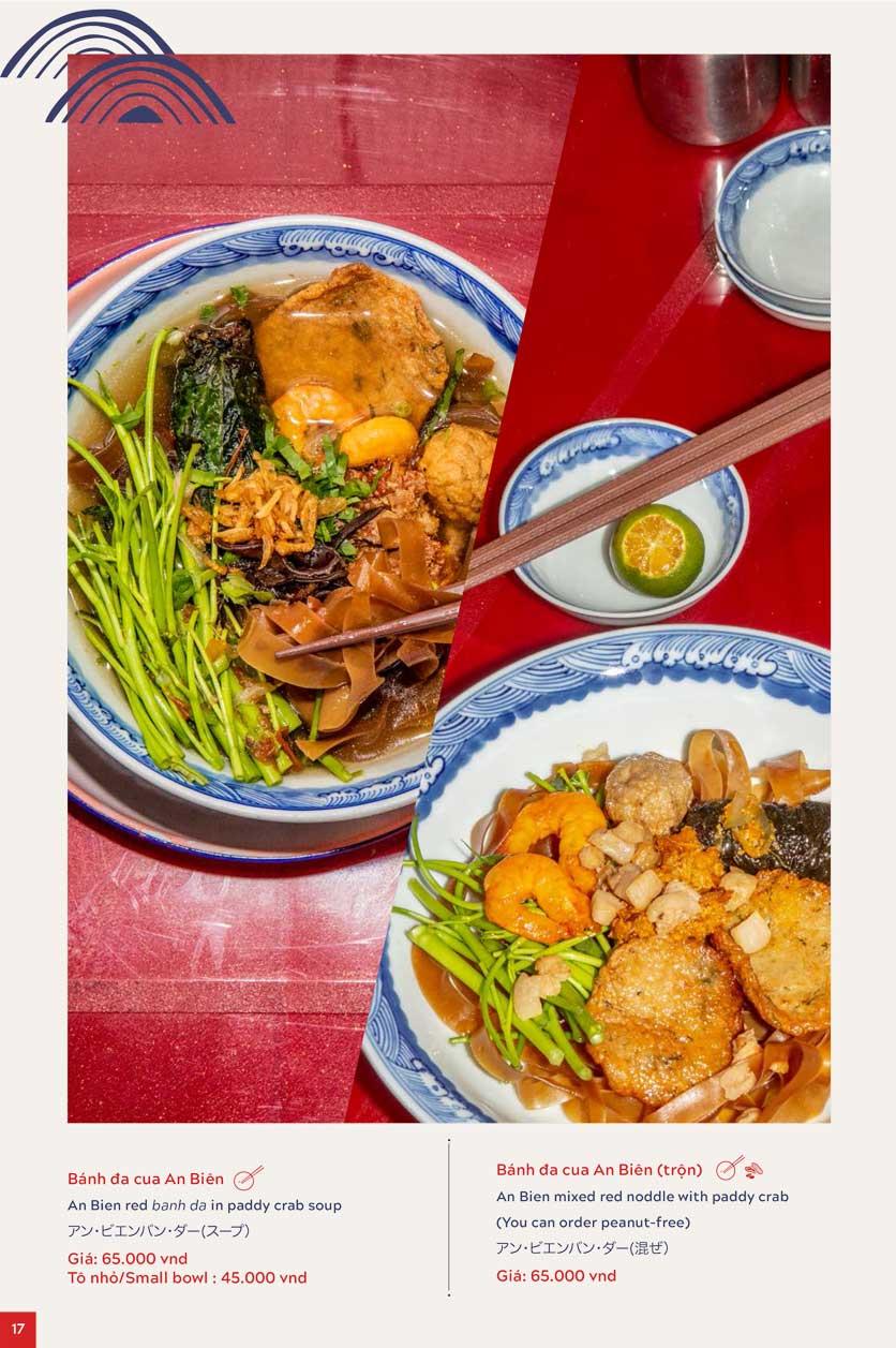 Menu An Biên Eatery – Triệu Việt Vương 10