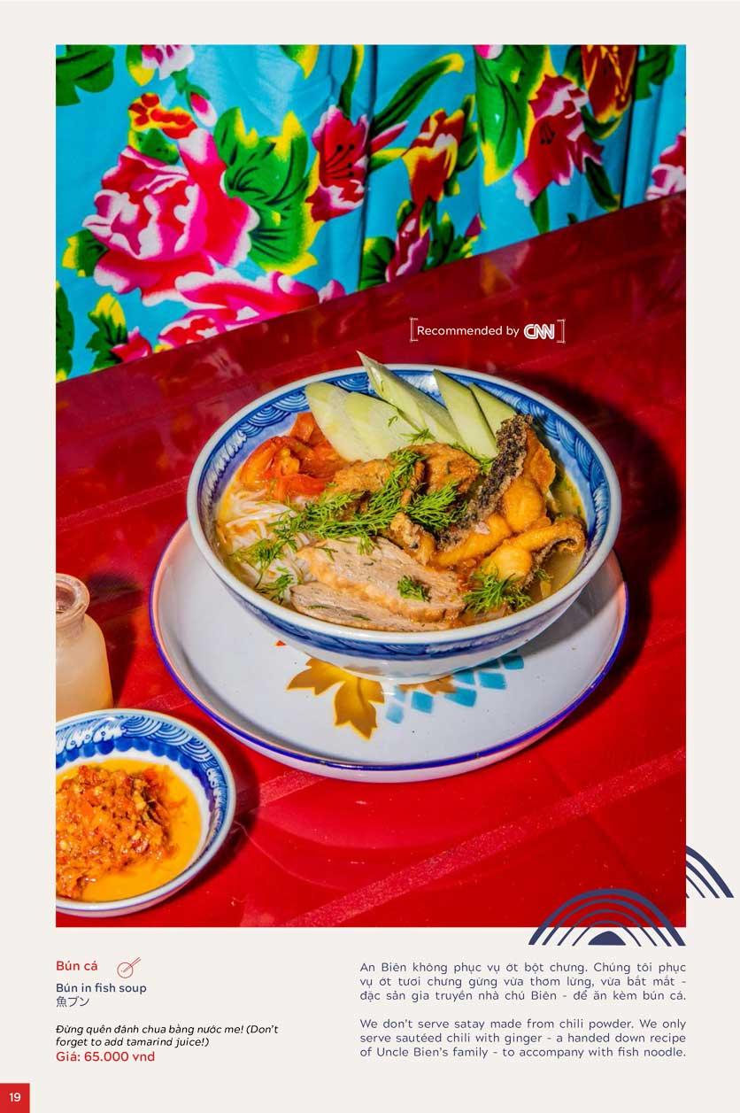 Menu An Biên Eatery - Trần Thái Tông 12