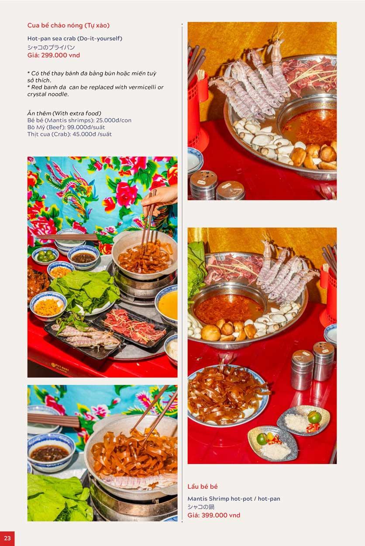 Menu An Biên Eatery – Triệu Việt Vương 15