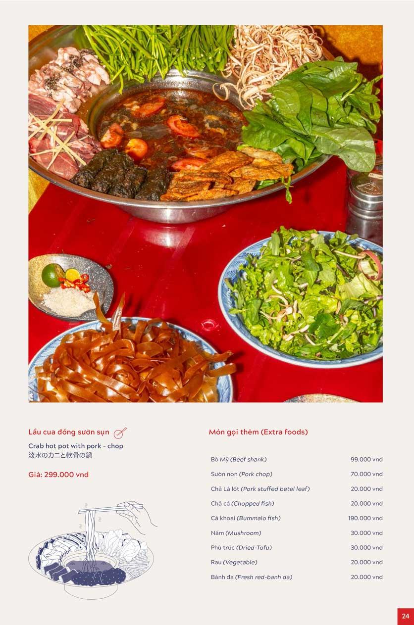 Menu An Biên Eatery – Triệu Việt Vương 16