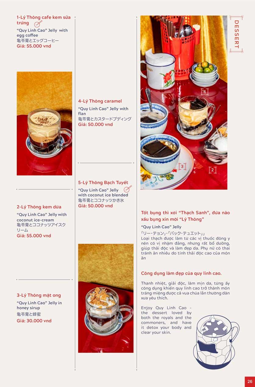 Menu An Biên Eatery - Trần Thái Tông 17
