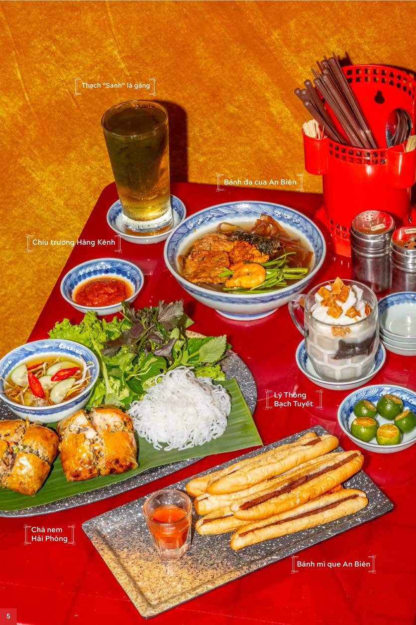 Menu An Biên Eatery - Trần Thái Tông 2
