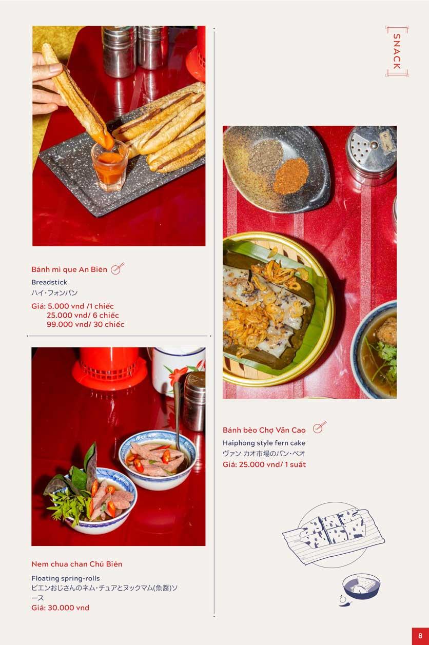 Menu An Biên Eatery - Trần Thái Tông 4