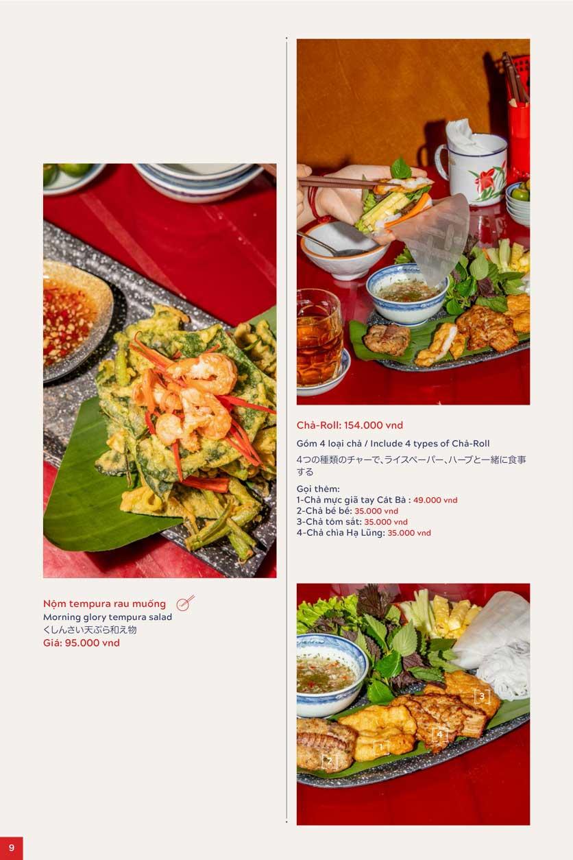 Menu An Biên Eatery – Triệu Việt Vương 5