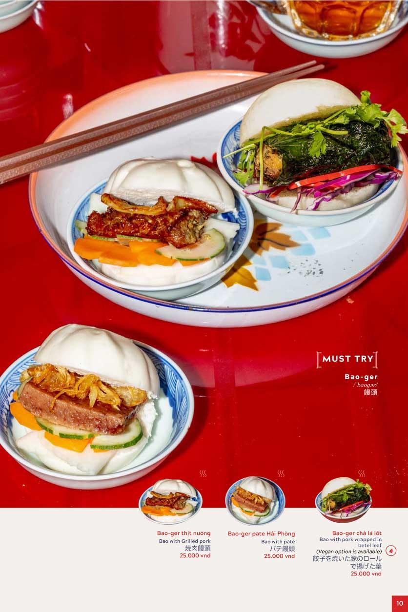 Menu An Biên Eatery - Trần Thái Tông 6