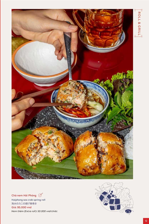 Menu An Biên Eatery – Triệu Việt Vương 7