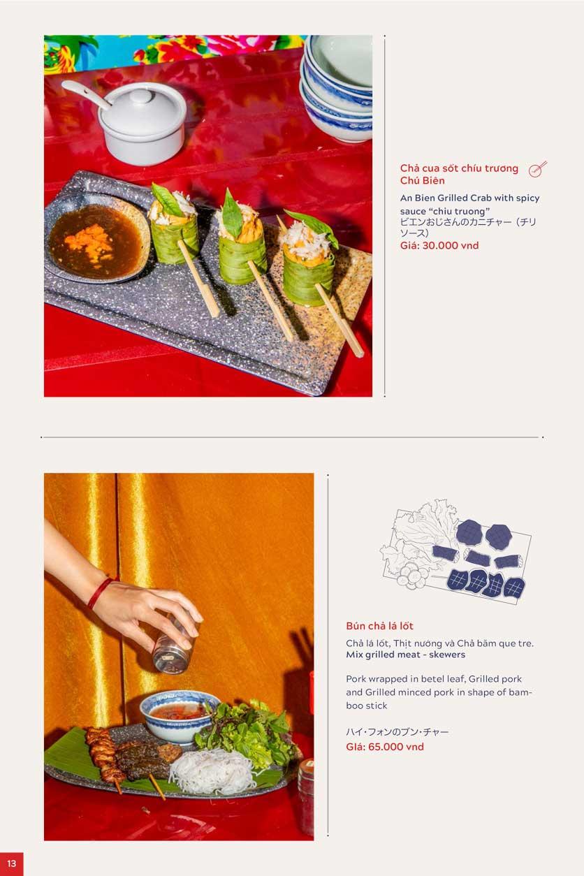 Menu An Biên Eatery – Triệu Việt Vương 8