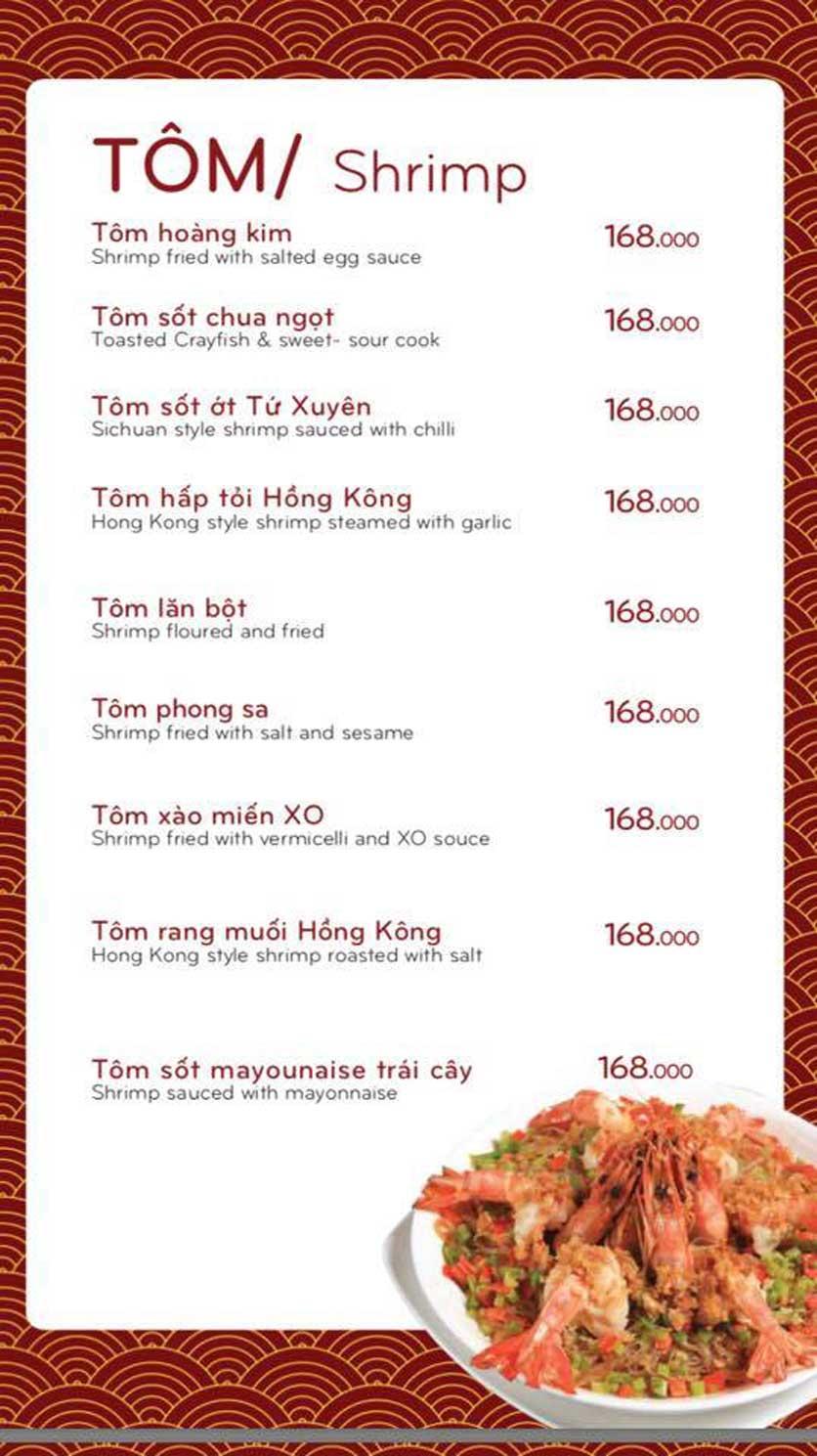 Menu Bách Restaurant – Phan Văn Trị 5