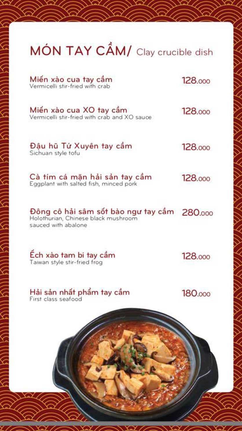 Menu Bách Restaurant – Phan Văn Trị 6