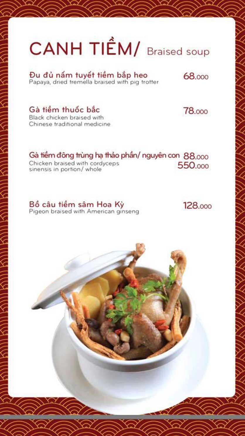 Menu Bách Restaurant – Phan Văn Trị 8
