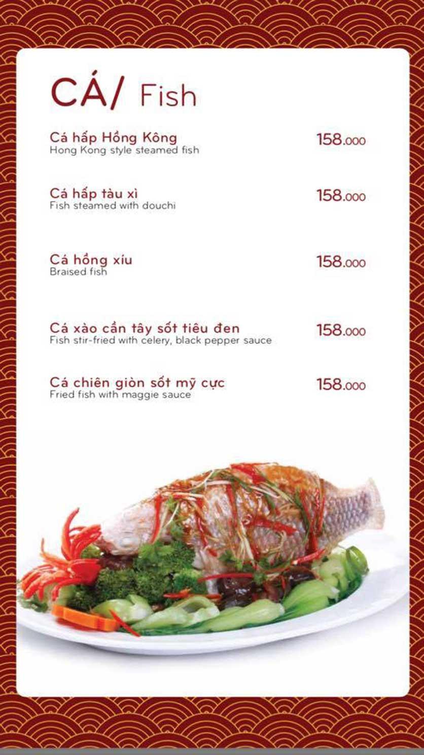 Menu Bách Restaurant – Phan Văn Trị 11