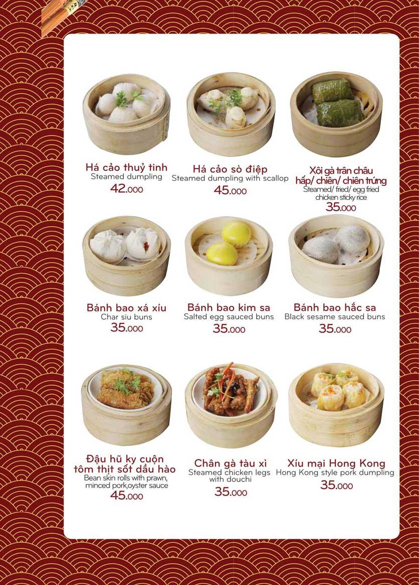 Menu Bách Restaurant – Phan Văn Trị 16
