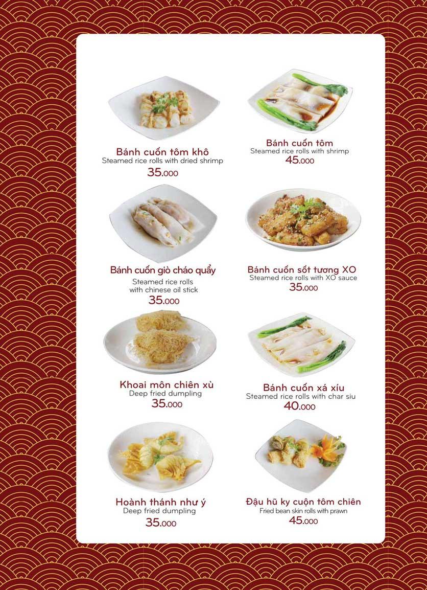 Menu Bách Restaurant – Phan Văn Trị 17