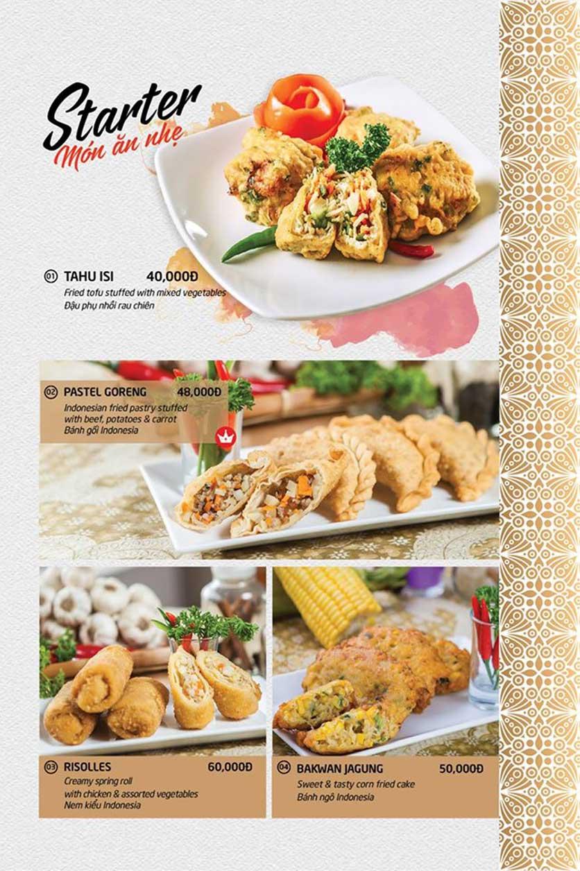 Menu Batavia Restaurant & Cafe - Xuân Diệu 1