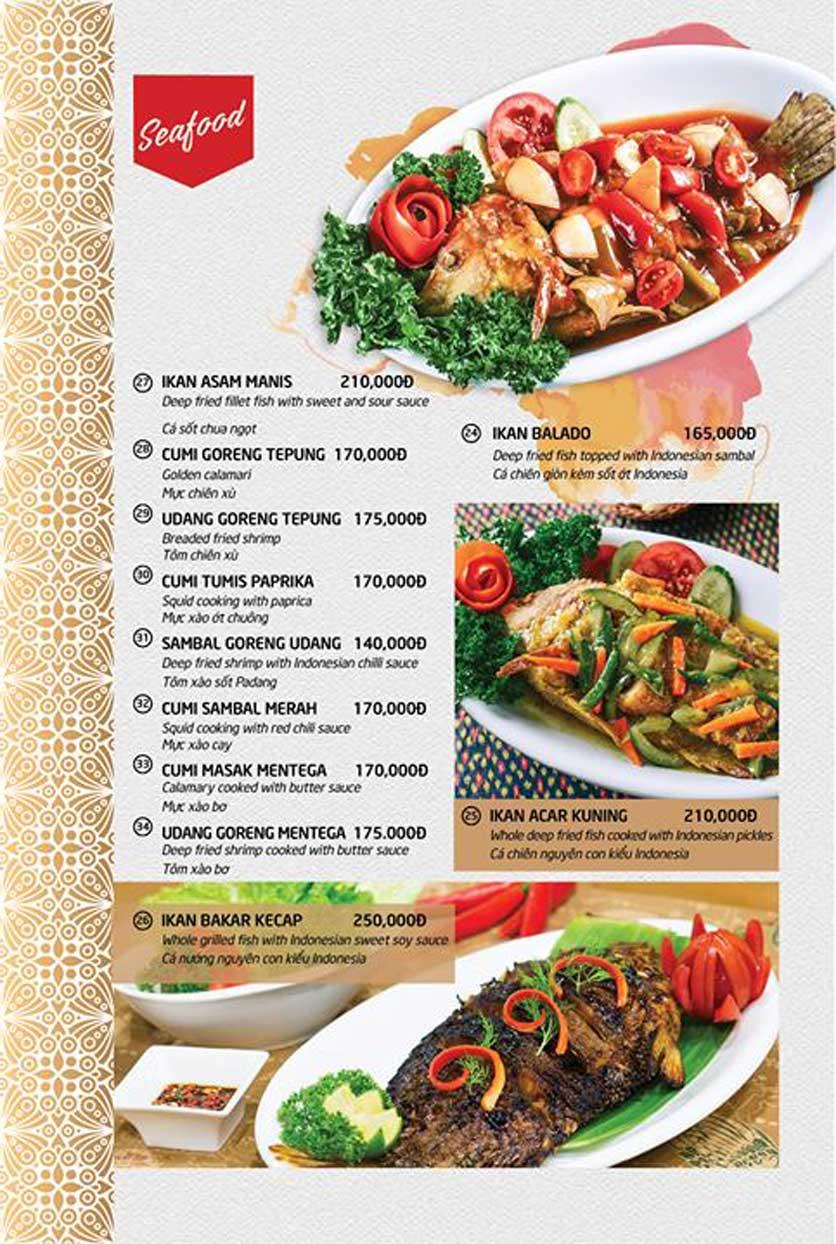 Menu Batavia Restaurant & Cafe - Xuân Diệu 6