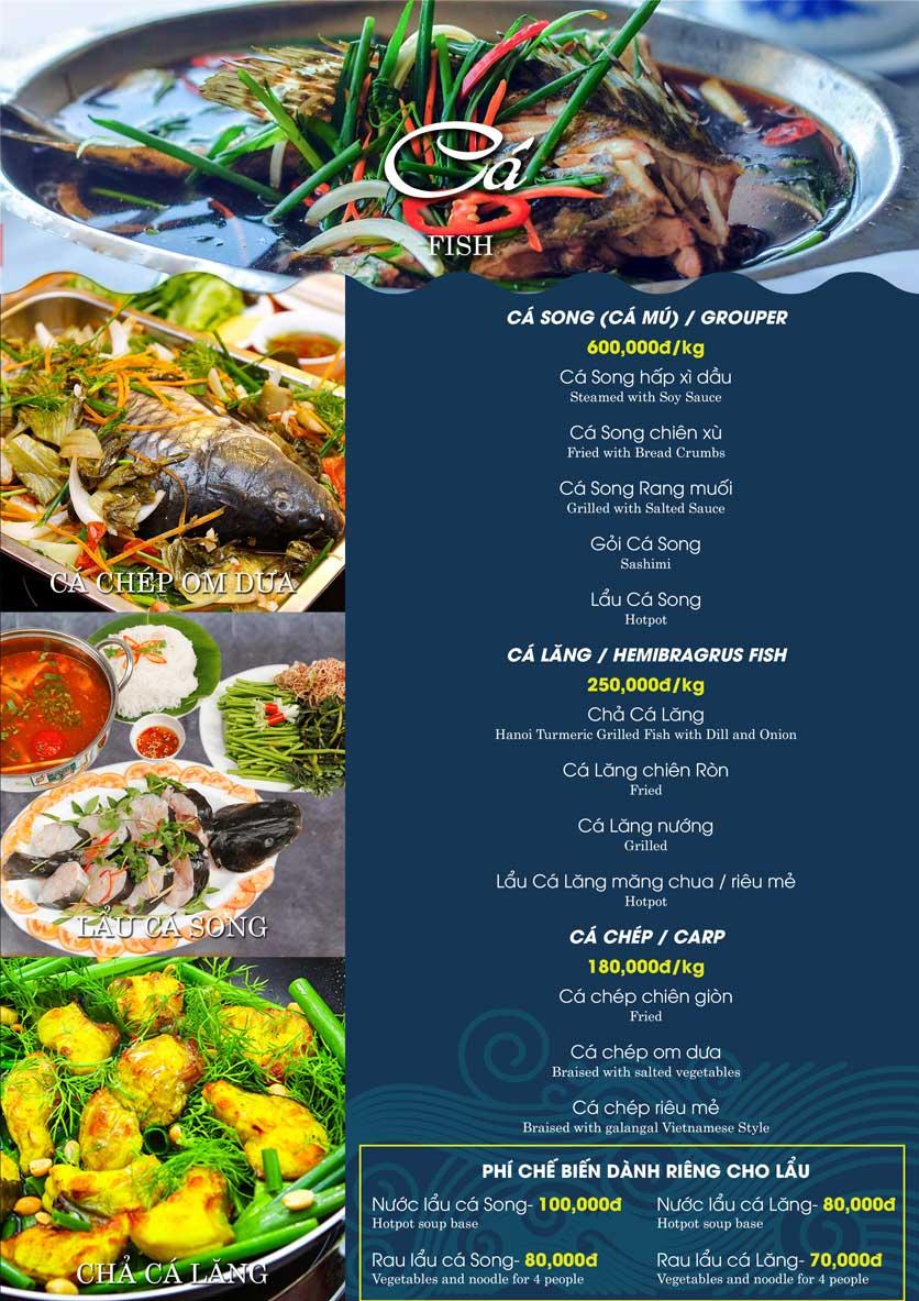 Menu Hải Sản Biển Cua - Nguyễn Khang 14