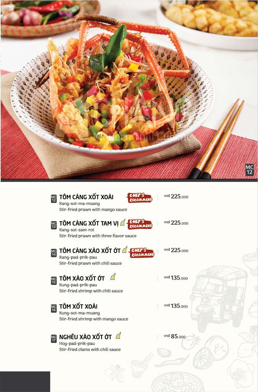 Menu Chang - Phan Xích Long  11