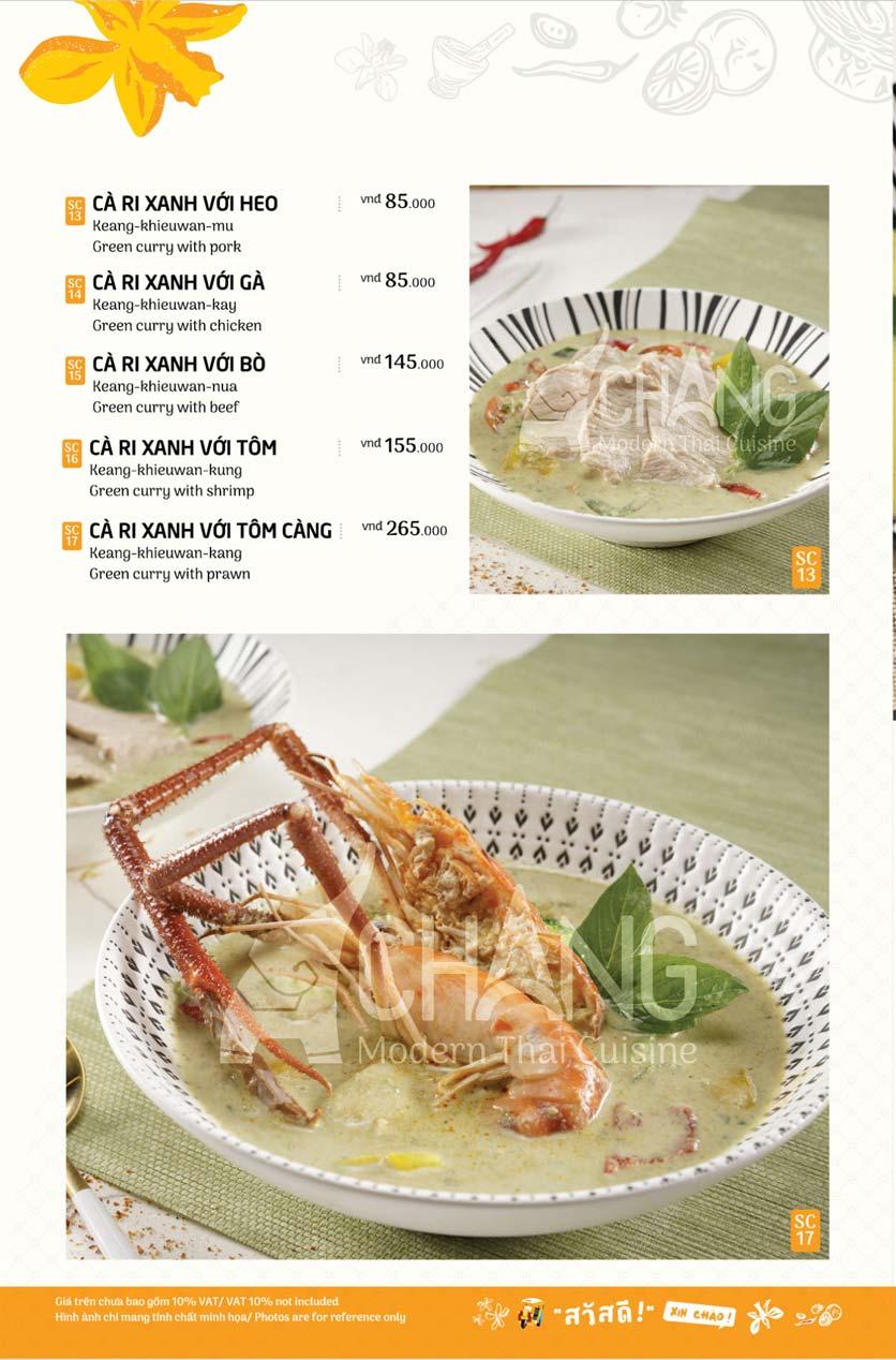 Menu Chang - Phan Xích Long  17